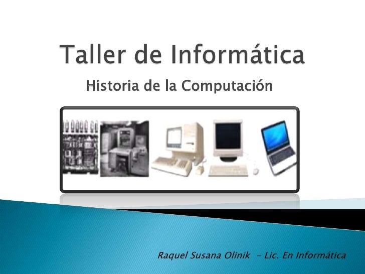 Historia y generaciones de las computadoras - photo#47