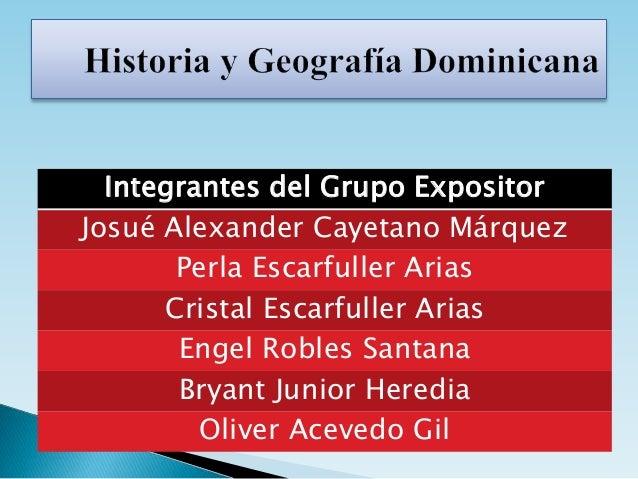 Integrantes del Grupo Expositor Josué Alexander Cayetano Márquez Perla Escarfuller Arias Cristal Escarfuller Arias Engel R...