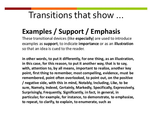 good transition words persuasive essays Persuasive words just like transitions add structure and depth to your essay good luck on your demand writing transition, persuasive, and descriptive words.