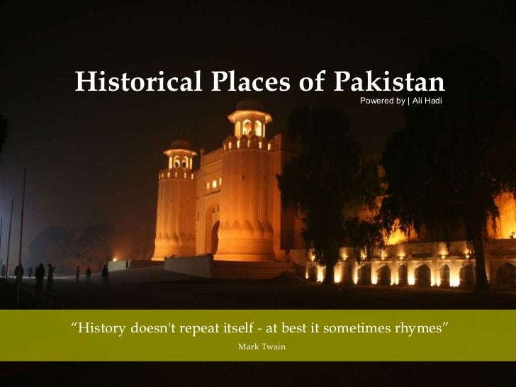 Historical places of pakistan