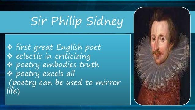 Sir Philip Sidney best poems