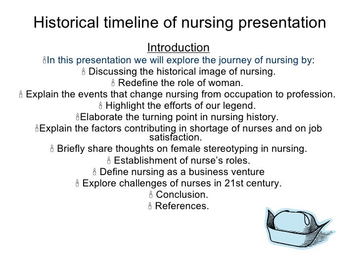 nursing evolution essay The evolution of nursing future perspectives purpose: nurses work together in many environments understanding the roles and responsibilities of each type of graduate.