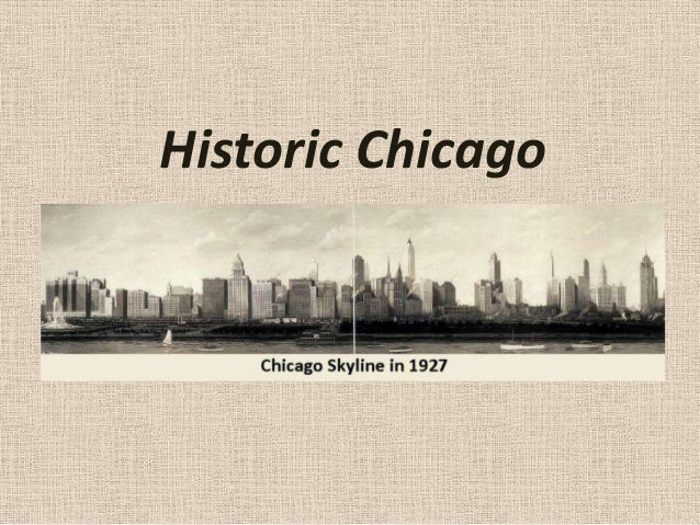 Historic chicago ppss