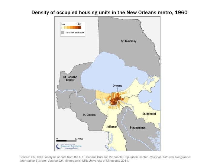 Source: GNOCDC analysis of data from the U.S. Census Bureau;Minnesota Population Center. National Historical Geographic ...