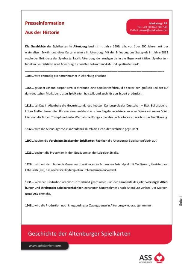 Presseinformation                                                                                Marketing / PR           ...