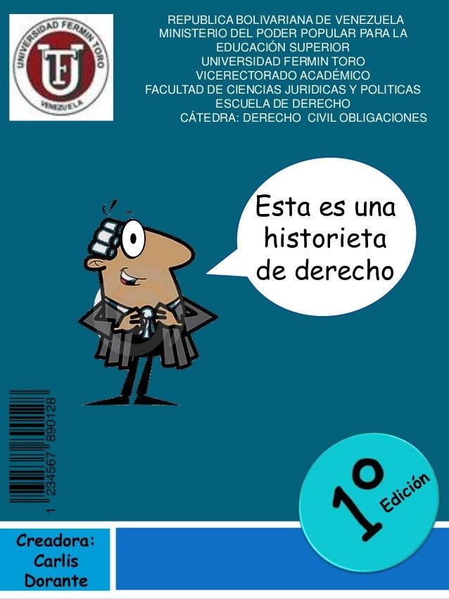 REPUBLICA BOLIVARIANA DE VENEZUELA MINISTERIO DEL PODER POPULAR PARA LA EDUCACIÓN SUPERIOR UNIVERSIDAD FERMIN TORO VICEREC...