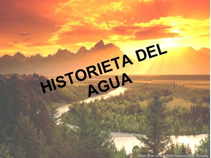Historieta Del Agua