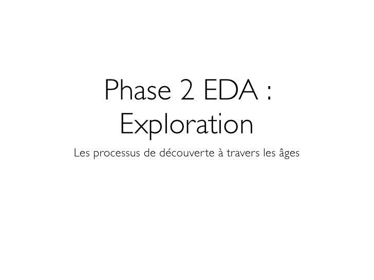 Phase 2 EDA :        Exploration Les processus de découverte à travers les âges