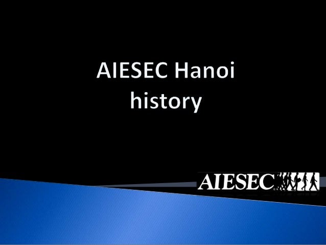 AIESEC Hanoi history