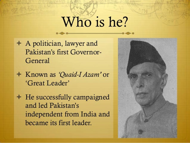 on muhammad ali jinnah essay on muhammad ali jinnah