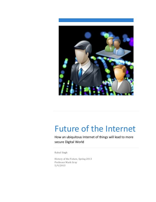 The Future of the Internet - The Next 30 Years