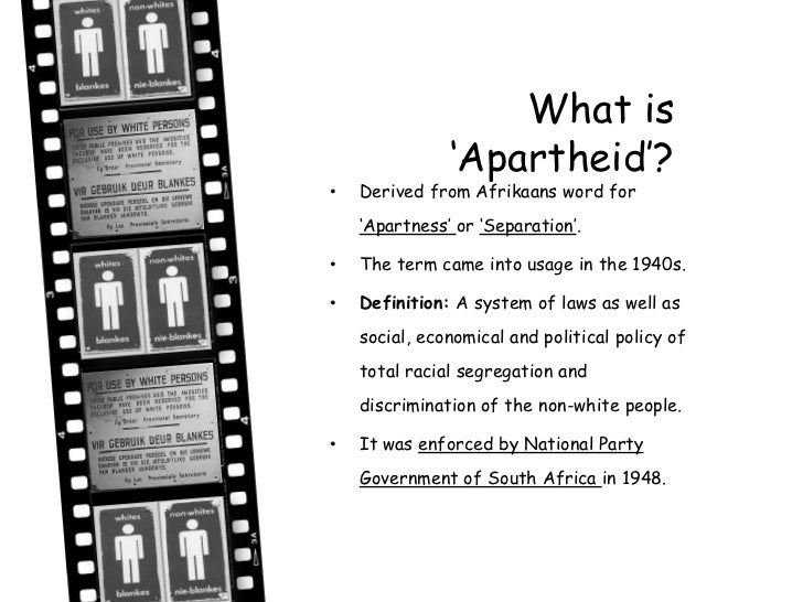 an overview of the history of apartheid system in the government of africa History and alumni  dutch reformed church: t he now-defunct apartheid system of south africa presented a fascinating instance of interest-group competition for.