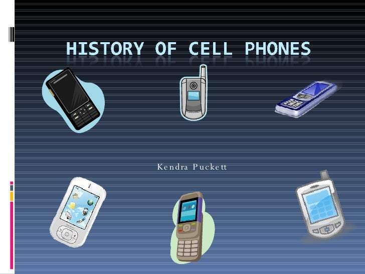history of cellphone