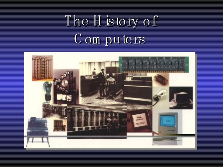 history of computers essay
