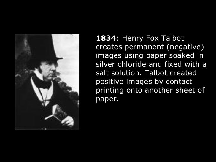 research paper on the history of photography