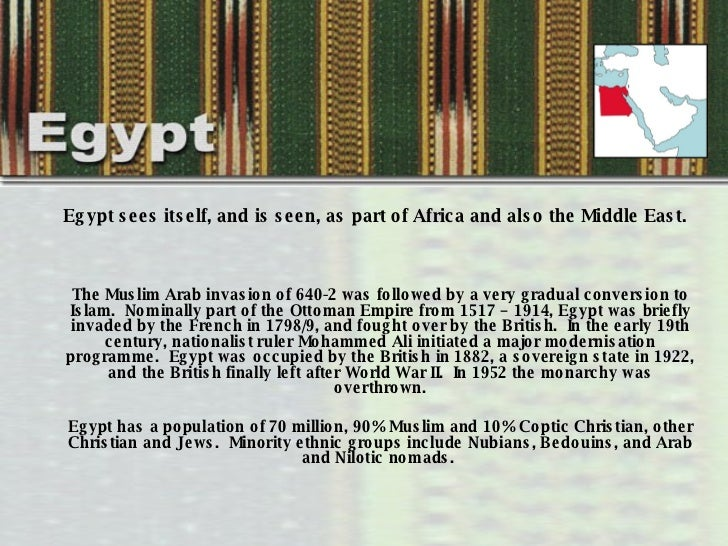 History of Women's Dress and Clothing in Egypt