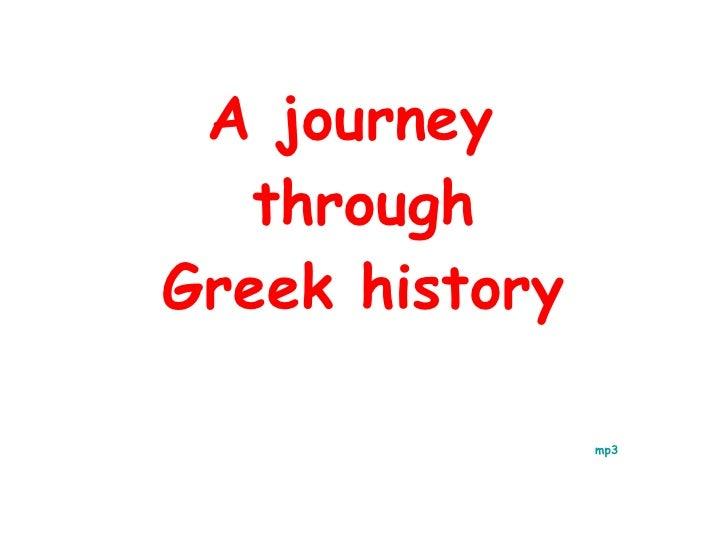 A journey  through Greek history       mp3