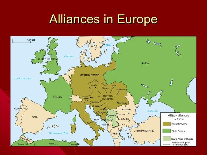 Alliances in Europe