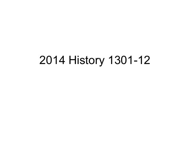 How to write a essay for history 1301?