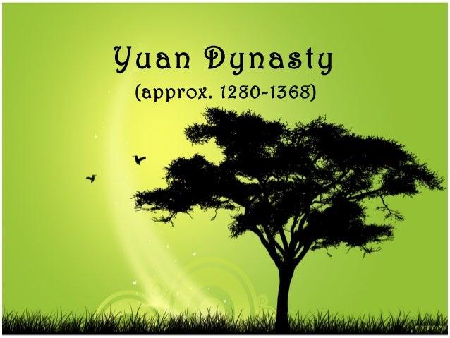 Yuan Dynasty (approx. 1280-1368)