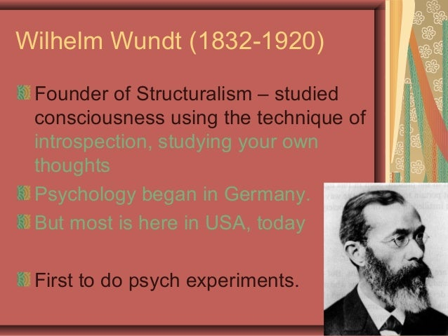 wilhelm wundt essay Wilhelm wundt structuralism essay, creative writing about time traveller's wife, creative writing ucd module read a new cdfai research paper on biometric-based.