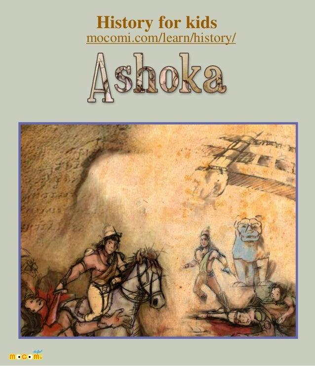 Ashoka the Great - Kings of India – Mocomi.com