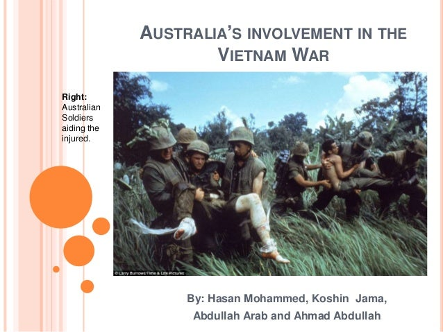 Essays on australia's involvement in the vietnam war