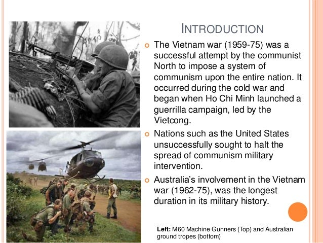 Reasons for Australia's involvement in the Vietnam war?