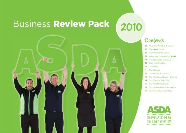 business analysis of asda Asda supermarket stores are covered in terms of their swot analysis, competition , slogan, segment, target  uk's cheapest market destination ahead of tesco.