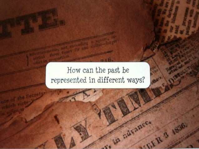 History of creative writing