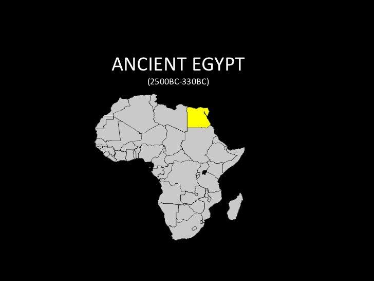ANCIENT EGYPT<br />(2500BC-330BC)<br />