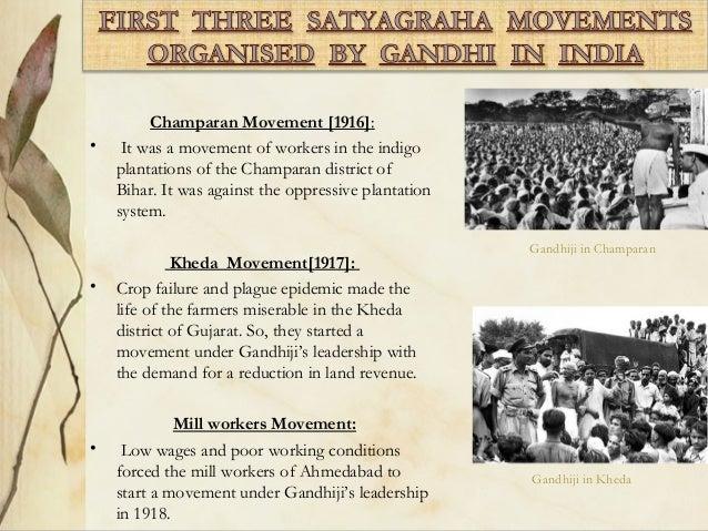 mahatma gandhi satyagraha essay