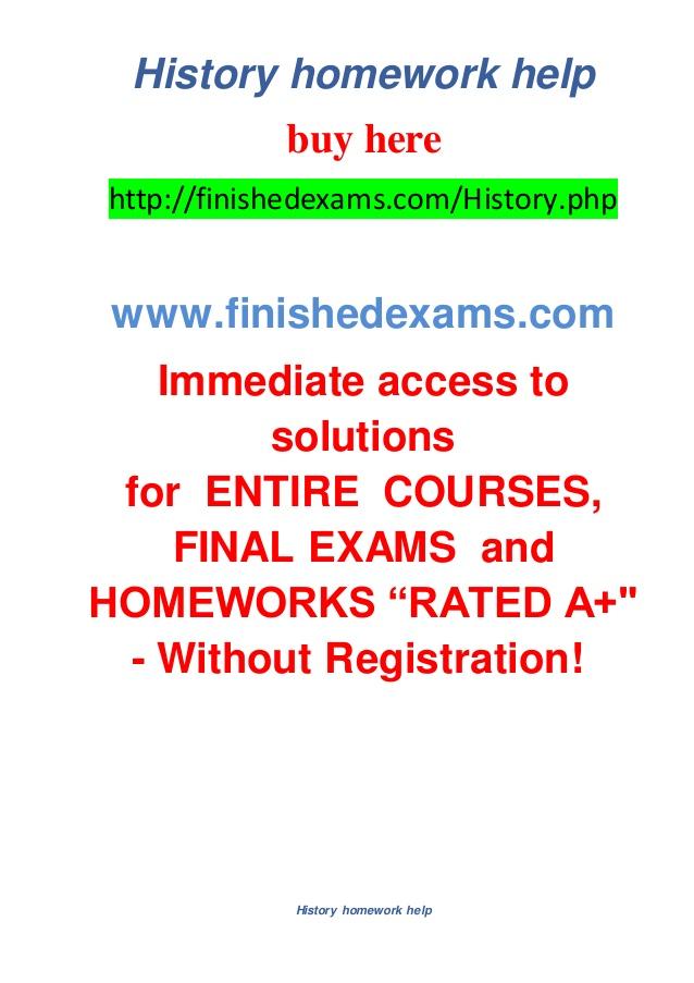 help with history homework 1495763667