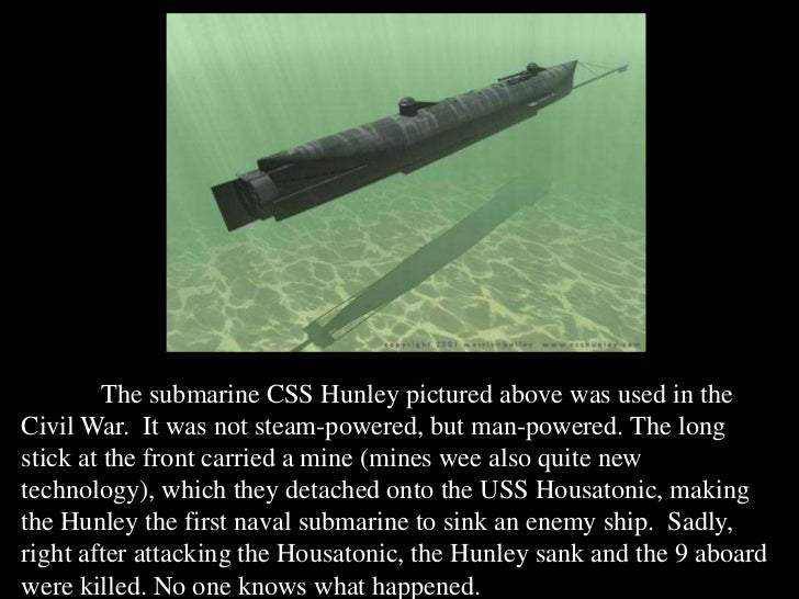 an examination of the naval warfare during the civil war The remains of the only us navy ship sunk in the gulf of mexico during civil war combat now can be seen in 3-d sonar images from the gulf's murky depths 3-d sonar provides new view of civil war shipwreck published january 19, 2013.