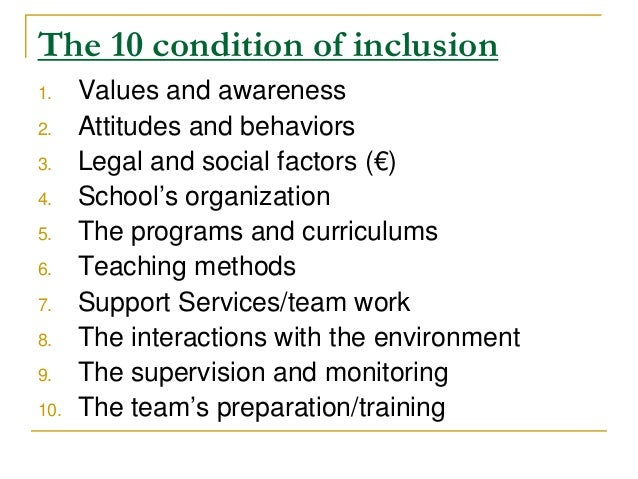 Dissertation on barriers to effective inclusive education