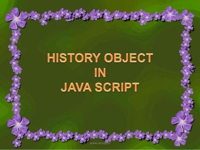 History object
