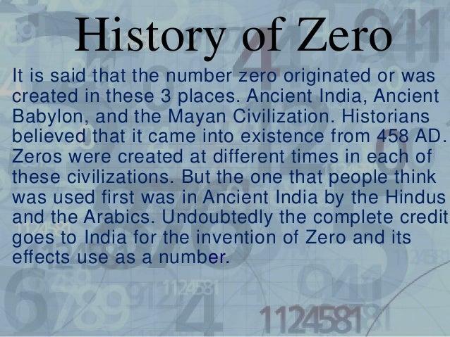 Number Zero Origin The Number Zero Originated