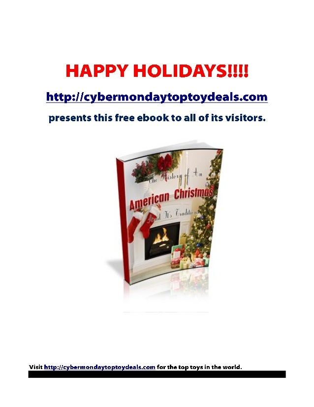 History of an American Christmas by Xavier Buchanan