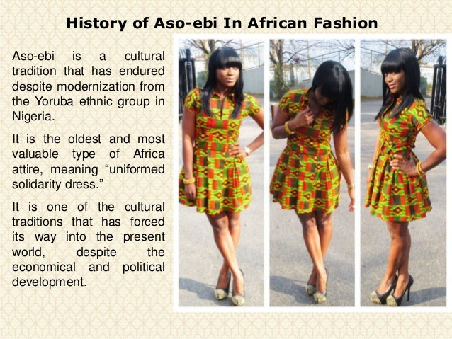 History Of Aso Ebi In African Fashion