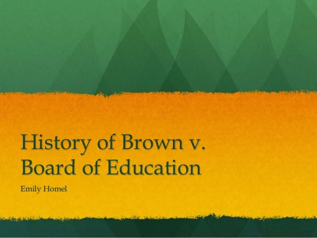 board of education vs rowley Important events in special education of brown v board of education of hendrick hudson school distric v rowley made the decision that schools.