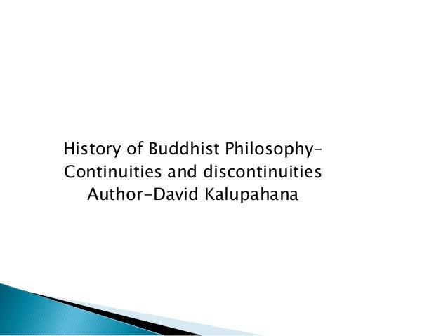 History of buddhist philosophy