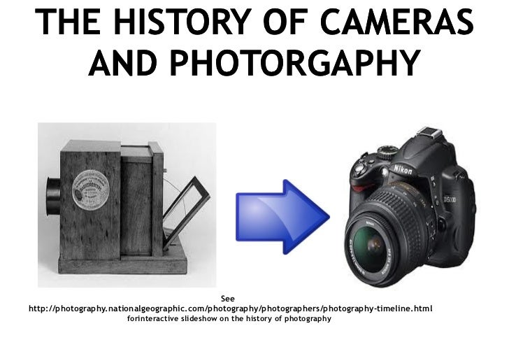 History of cameras and photography for record