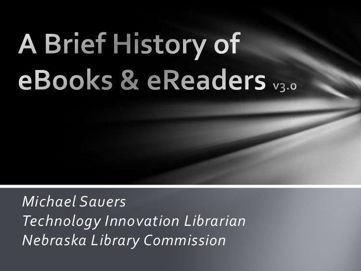 Michael SauersTechnology Innovation LibrarianNebraska Library Commission
