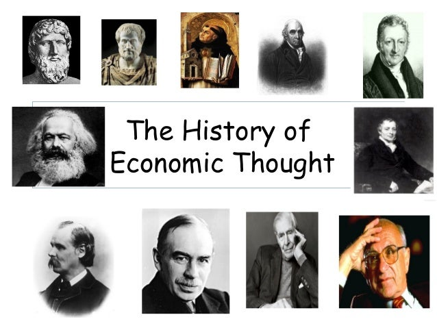 The History ofEconomic Thought
