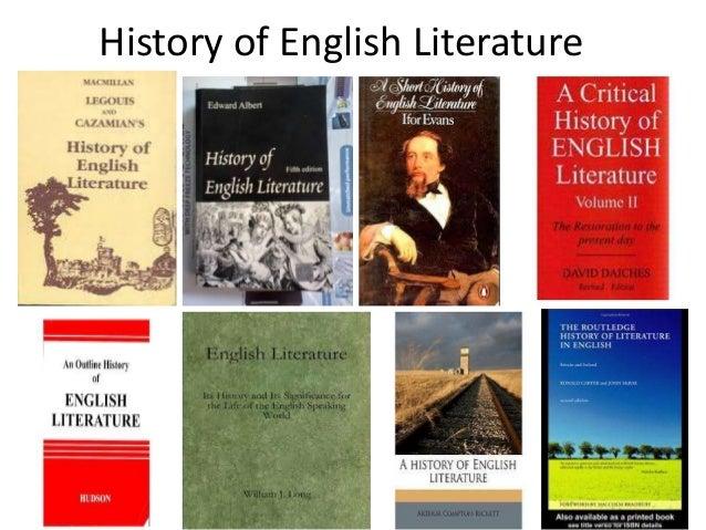 history of english literature Qv21 english literature and history ba undergraduate 2018 essentials course  summary  department(s) website, wwwdurhamacuk/englishstudies.