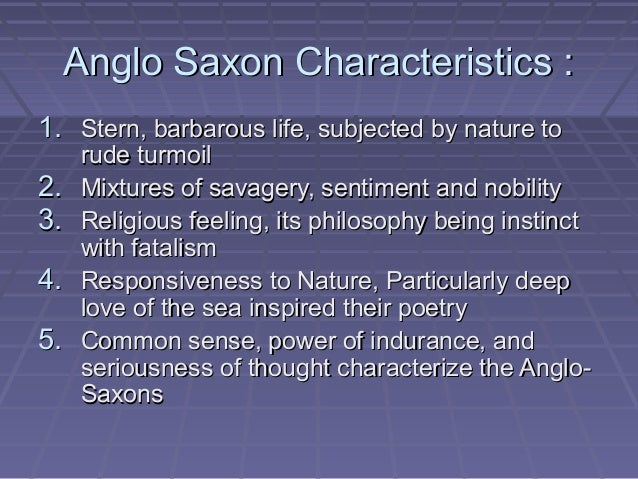 anglo saxon heroic poetry Anglo-saxon poetry is in reality a syzygy  heroic events from germanic past,  • old english poetry has a tight structure with.