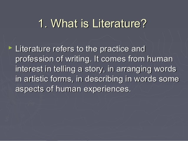 what is literature What is literature has 899 ratings and 48 reviews huda said: :.