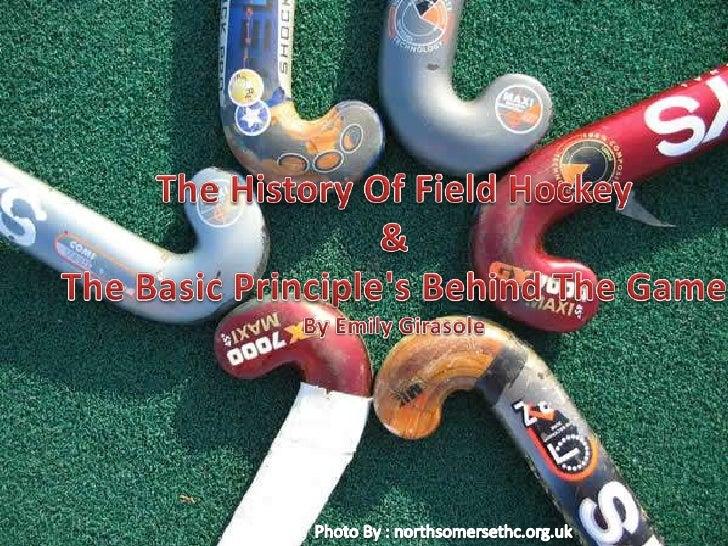 History of field hockey