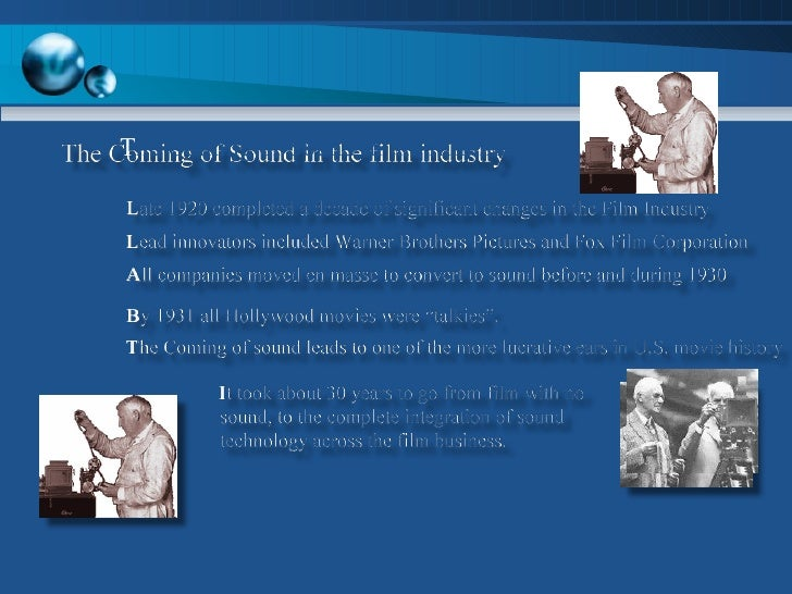 history of sound in film essay It absolutely stands to reason that some people find it difficult to write film analysis essays check out our sample and get rid of your problems.