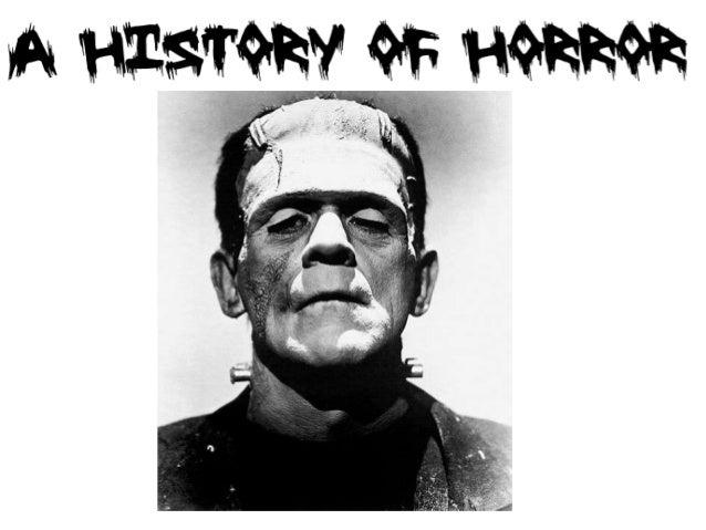 History of horror ppt